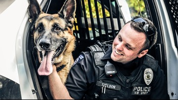 'We're hurt, we're sad' | Mooresville community mourning the loss of K9 Officer shot and killed in the line of duty