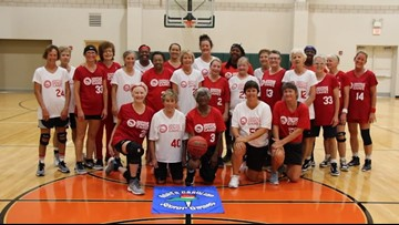 Women's senior basketball team proves age is just a number