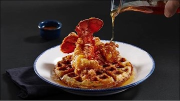 Red Lobster introduces lobster and waffles