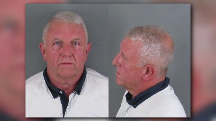 Roger Self. Photo by Gaston County jail.