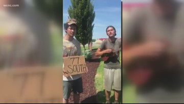 Hitchhikers' impromptu 'Wagon Wheel' cover goes viral