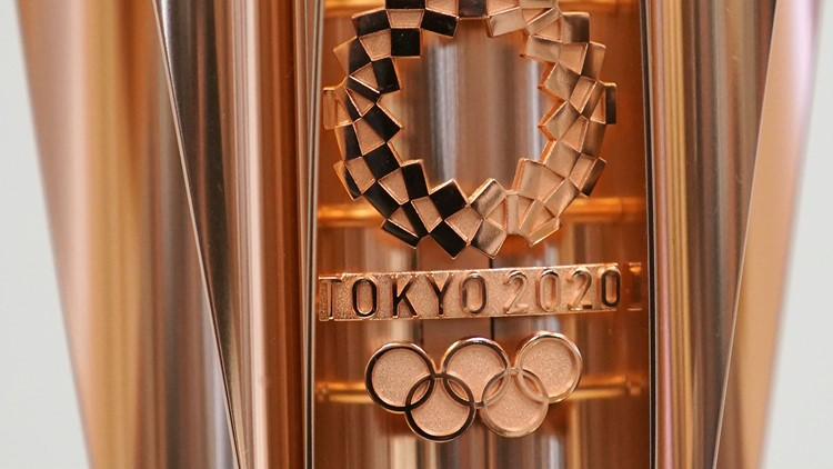2020 Tokyo Olympics torch design resembles cherry blossom