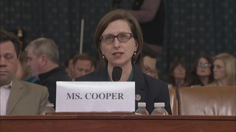 Deputy Assistant Secretary of Defense Laura Cooper's opening statement