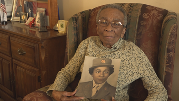 'We're The Girls, Soldier Girls, Minus Frills, Minus Curls' | Meet Private Elizabeth Johnson From The All-Black, All-Women WWII Battalion