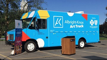 Albright-Knox Art Gallery Launches New Art Truck