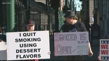 Statewide Protests Over Vaping Ban
