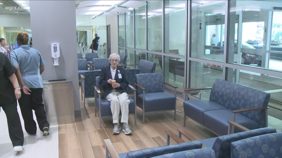 buffalo general hospital unveils new lobby