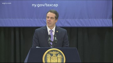 Cuomo sued over $21,000 raise; group calls it unconstitutional