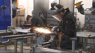 Alden High School starts student-run manufacturing program