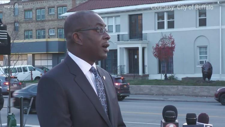Buffalo Mayor Brown cast's electoral vote
