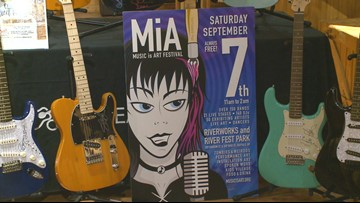 Preps underway for Music Is Art guitar auction
