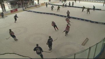 Estimated 900 players taking part in pond hockey tournament