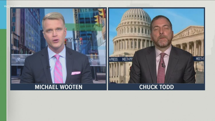 Friday Town Hall: Chuck Todd of NBC News discusses the American Rescue Plan
