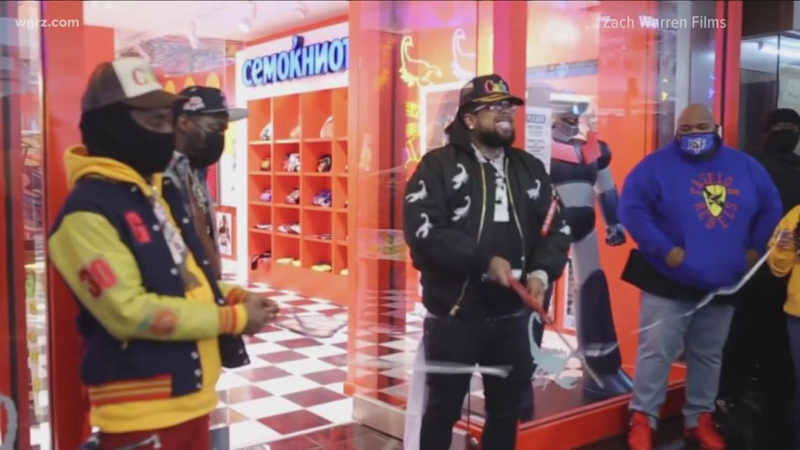 Grand opening: Griselda rapper Westside Gunn opens Walden Galleria store