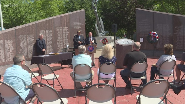 Fallen Cheektowaga soldier honored with a special ceremony