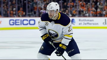 Johan Larsson back with Sabres for another season