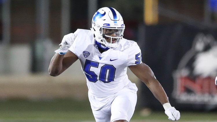 UB defensive end Malcolm Koonce drafted by Raiders