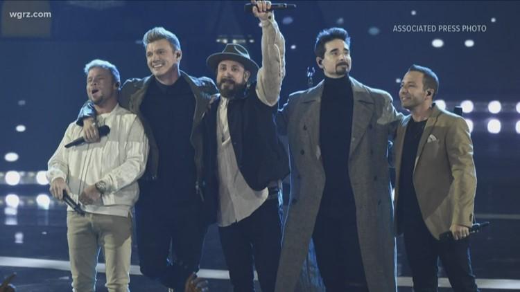Backstreet Boys at Darien Lake July 25th