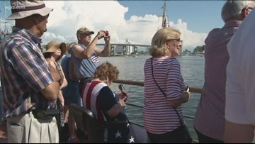 Tall ships festival organizers large crowds this weekend