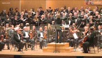 Buffalo Philharmonic Orchestra prep for 'Star Wars' concerts