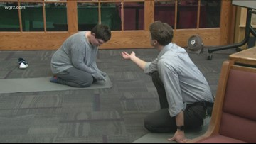 Cantalician Center using yoga to help children with developmental disabilities