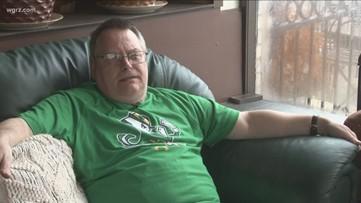 Western New York man uses crafts to get through hardships