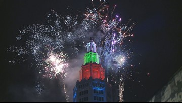 Fireworks ring in New Year in Buffalo after near cancellation