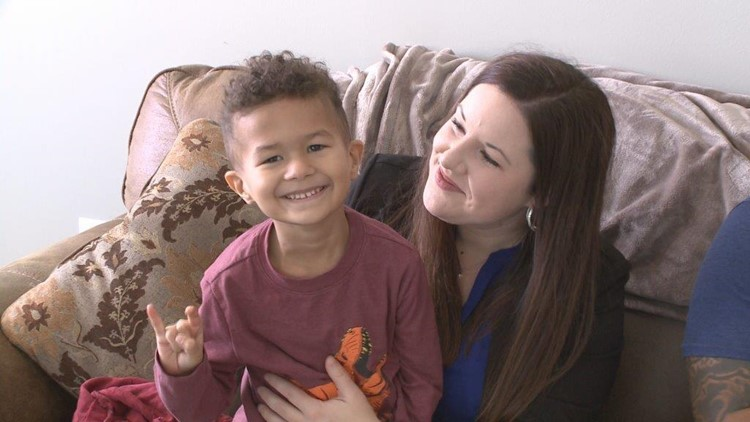 4-year-old Andre Sanders battles cancer like a warrior