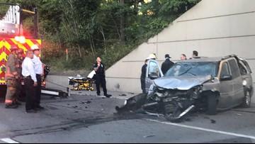 Vehicle drops down onto 33 Eastbound | wgrz com