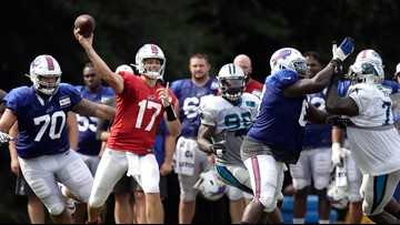 Buffalo Bills wrap up joint practices with Carolina Panthers in South Carolina