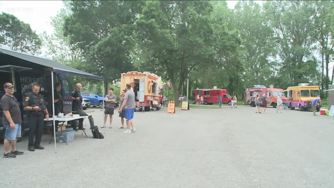 Final Food Truck Rodeo Of 2021 In Amherst