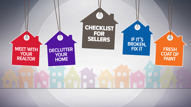 Checklist for homeowners looking to sell