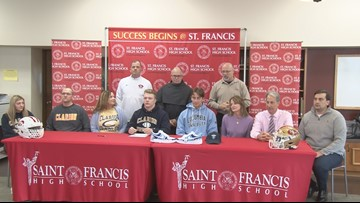 High school athletes sign national letters of intent