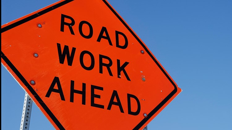 Road repairs at Kensington Expressway and Genesee Street beginning Friday night