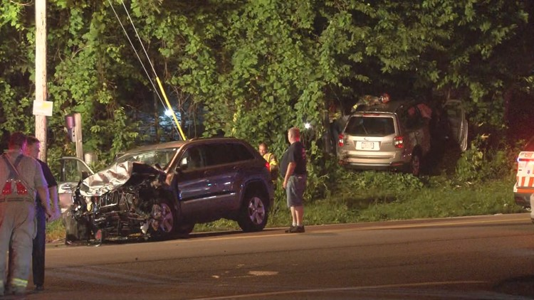 Six taken to ECMC after crash in Genesee County