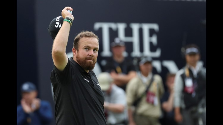 Lowry fires 8 under 63 to take command of Open Championship