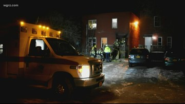 Four people recovering from house fire at the Falls Apartments
