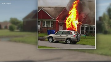 Family trying to rebuild after house fire