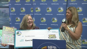 WNY Woman Wins Million-Dollar Jackpot