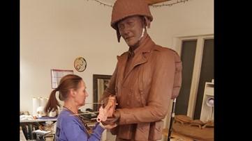 DeGlopper sculpture now in Colorado for bronze casting