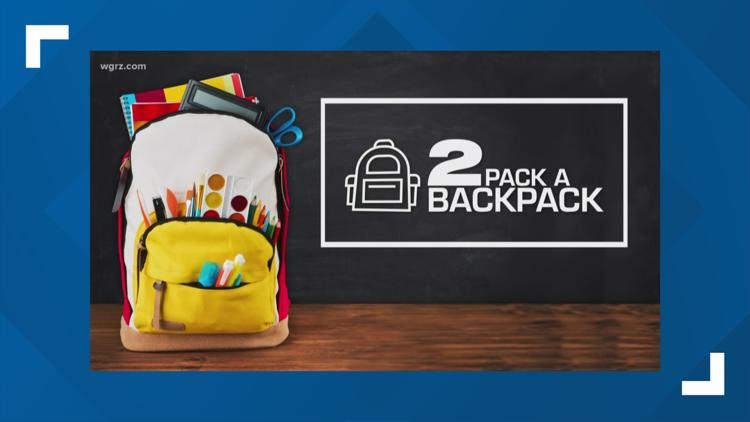 2 Pack A Backpack: Virtual School Supply Drive