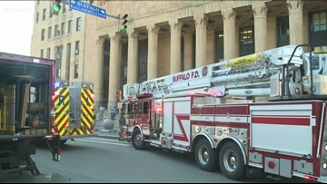 Two people rescued from elevator at city hall