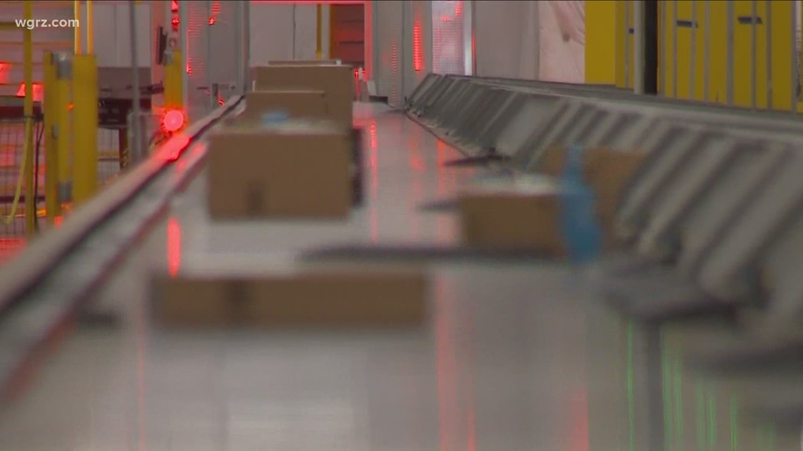 Amazon sends dozens of packages to Western New York woman by mistake