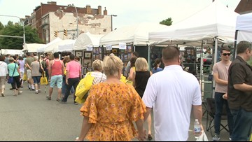 Health inspections at the Allentown Art Festival