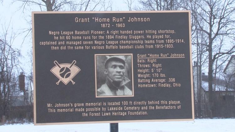 Grant 'Home Run' Johnson, WNY's unknown slugger