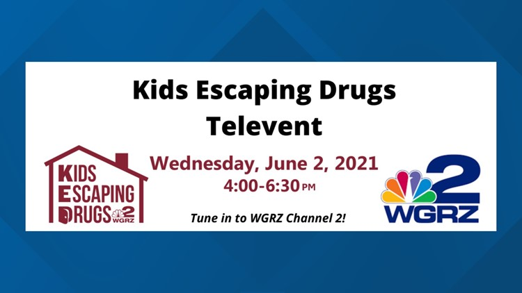 WGRZ & Kids Escaping Drugs Televent June 2