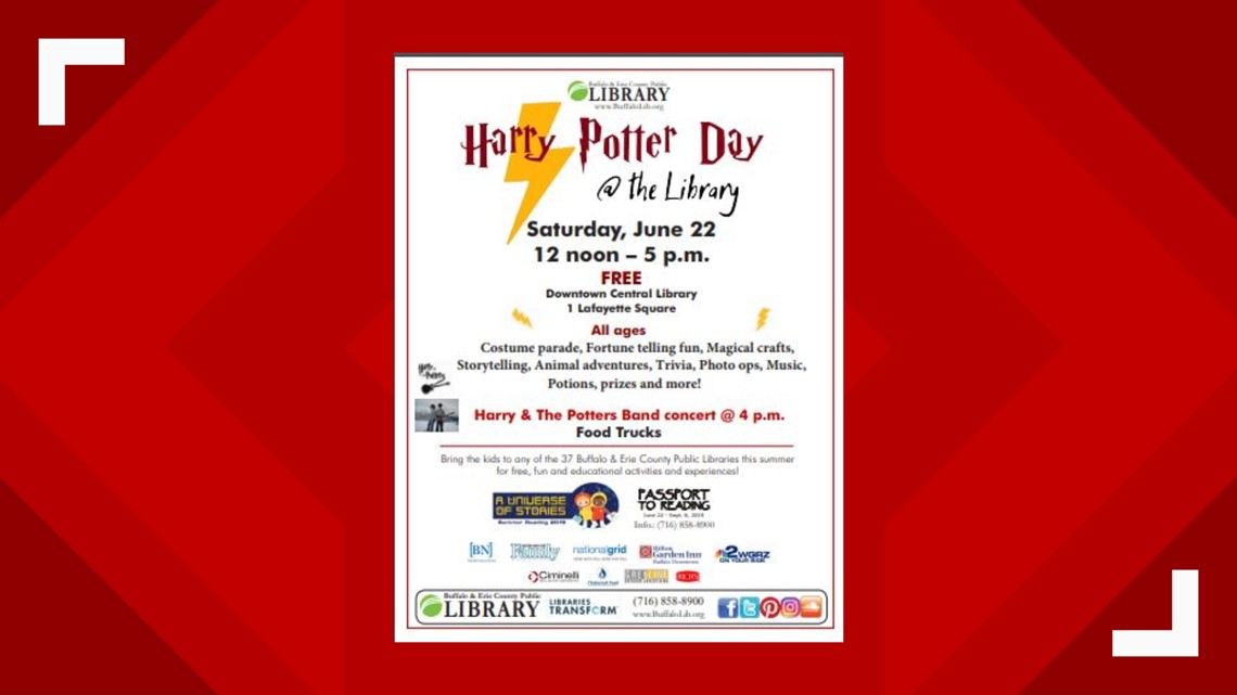 Harry Potter Day at the Library - Sat June 22nd