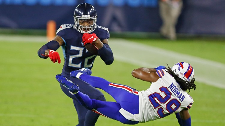 Henry, Titans keep batting away questions over his workload