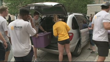 Students move in on college campuses across Western New York