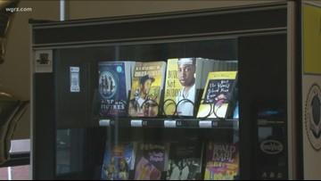 School #61 Gets New Book Vending Machine